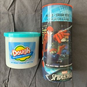 Other - Spider-man puzzle and play dough
